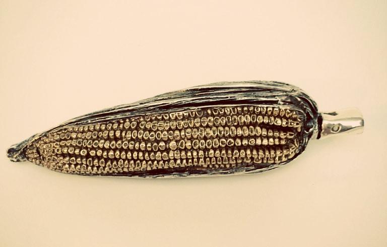 Ear of Corn Metal Paperweight