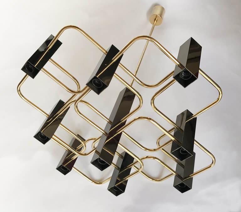 Boulanger chandelier by Sciolari special anniversary edition
