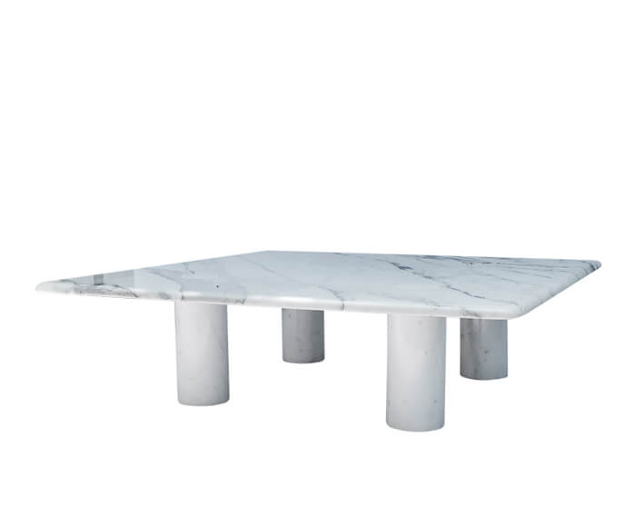 Angelo Mangiarotti Marble Coffee Table for Up&Up