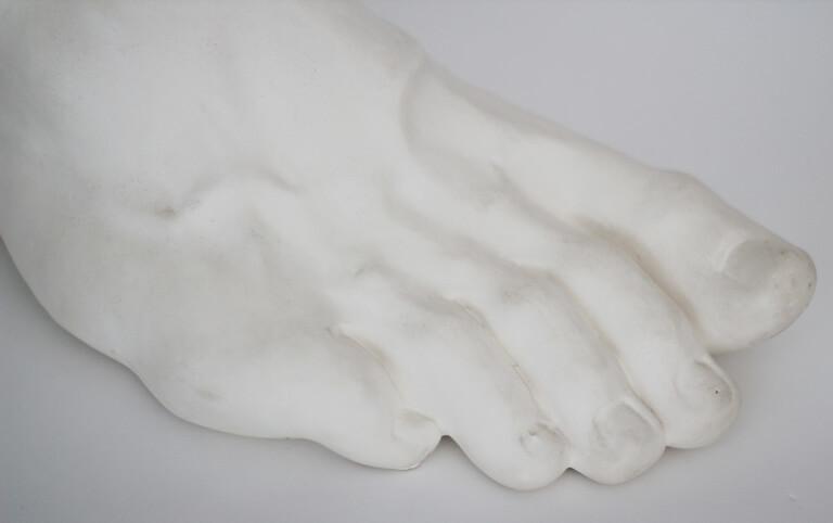 Farnese Hercules Plaster Cast Foot Sculpture