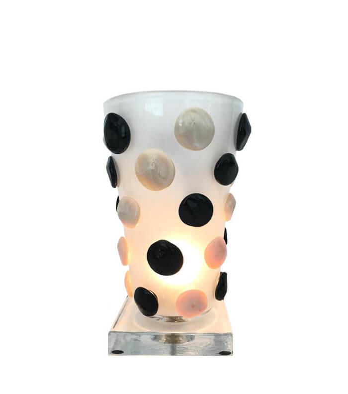 Pino Signoretto Large Murano Vase Lamp