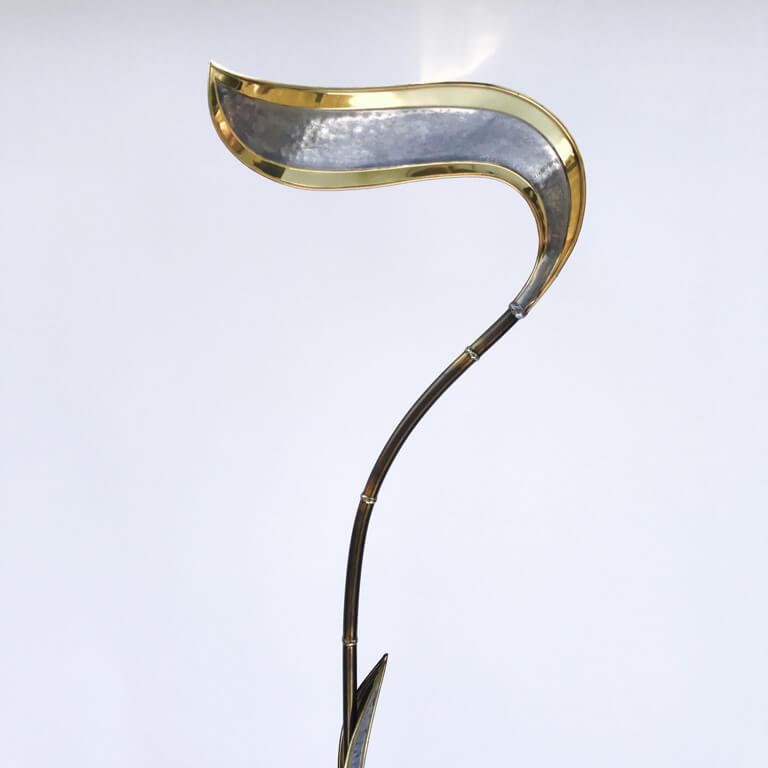 Richard Faure Foliage Floor Lamp