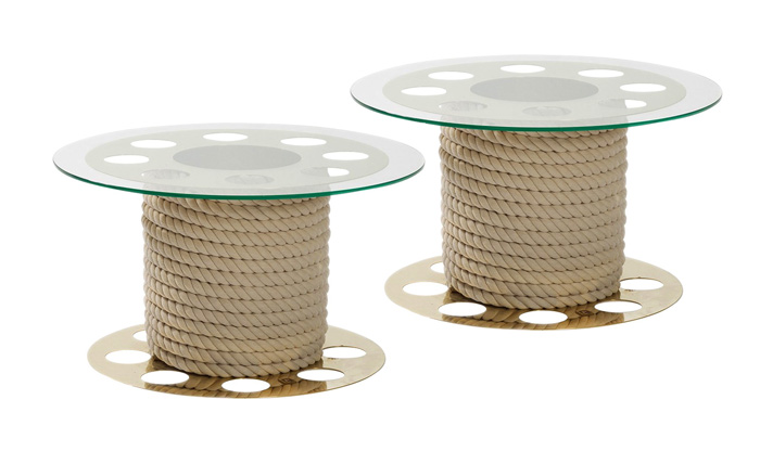 Paco Rabanne Round side Tables