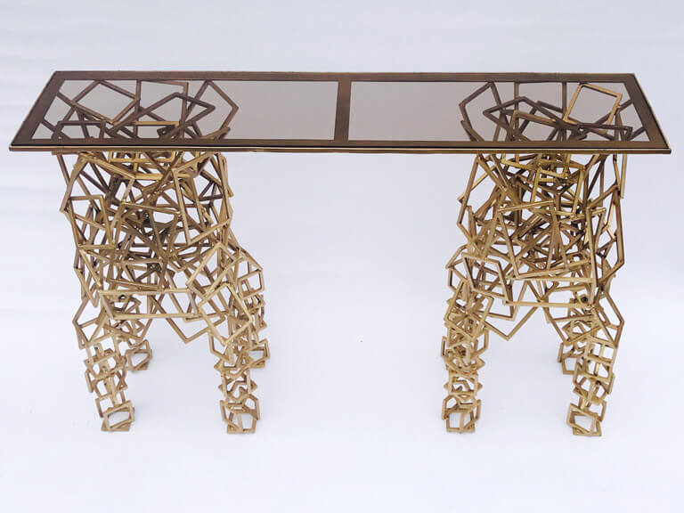 Spectacular Contemporary Console Table