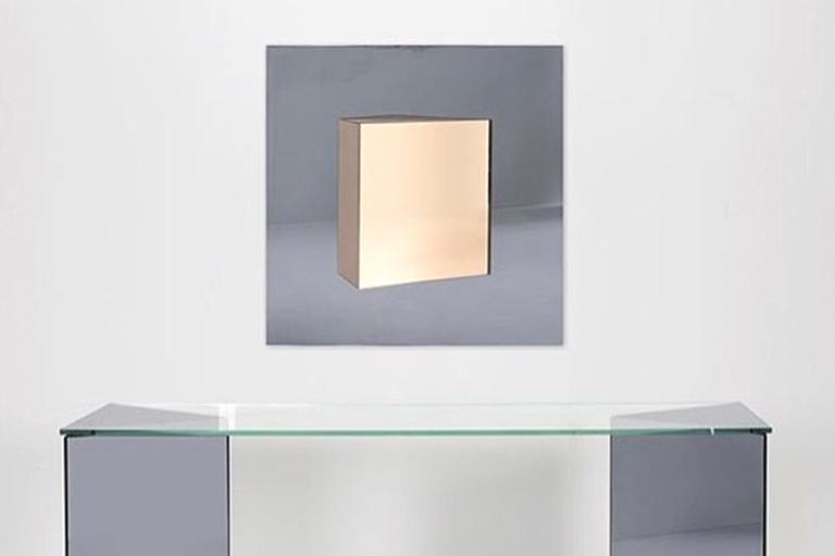 Geometric Italian Cristal Art Mirror