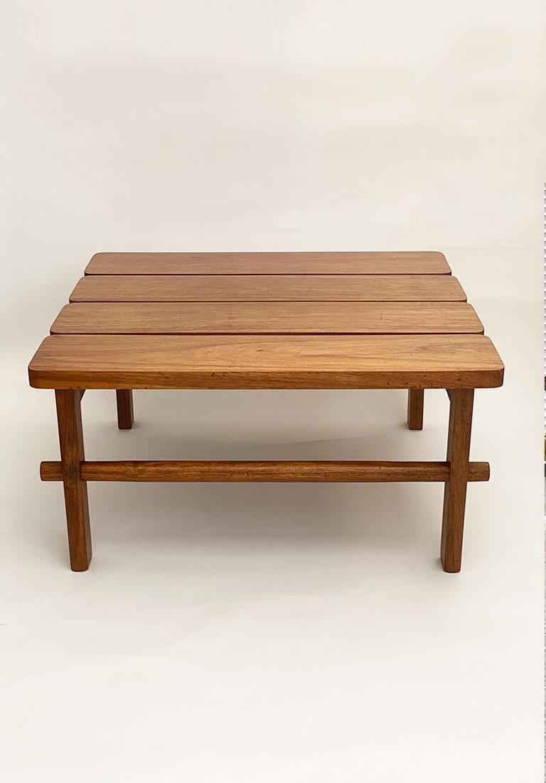 Brazilian Modernist Rosewood Coffee Table Galleria62