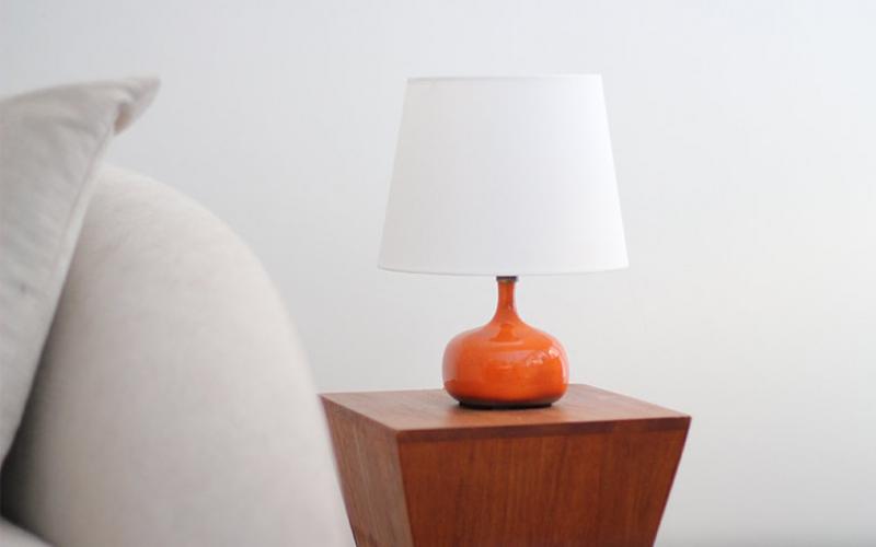 Jacques and Dani Ruelland Ceramic Table Lamp