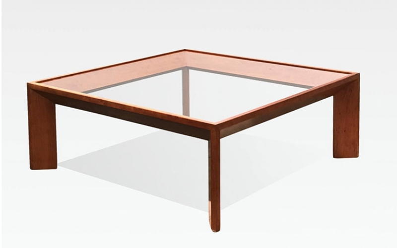 Jean Royere style Geometric Coffee Table
