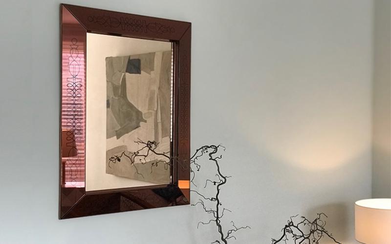Max Ingrand French Art Deco Mirror